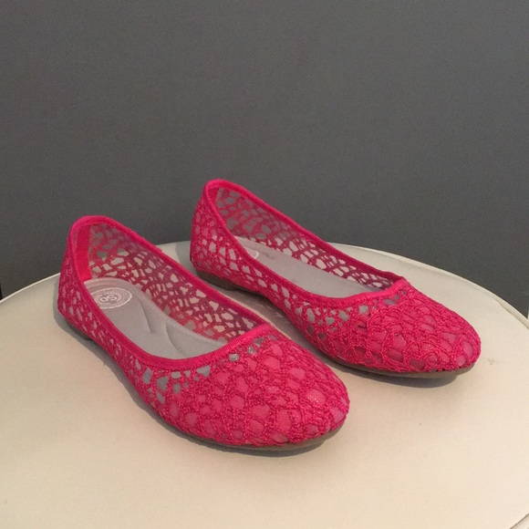 NWOT Cute Pink Slip-on Shoes